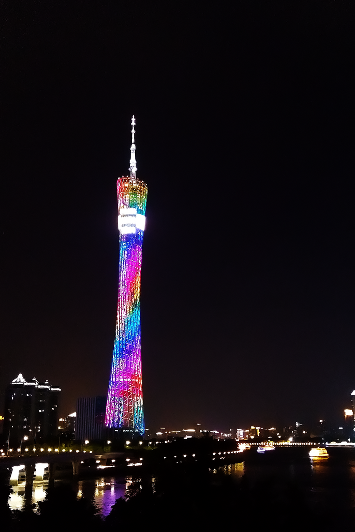 Canton Tower by FlameRat-YehLon