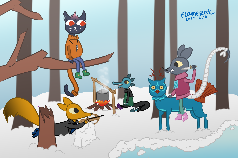 [LITW December 2017 contest] Winter Camp by FlameRat-YehLon