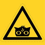 Nightmare Eye Hazard Sign
