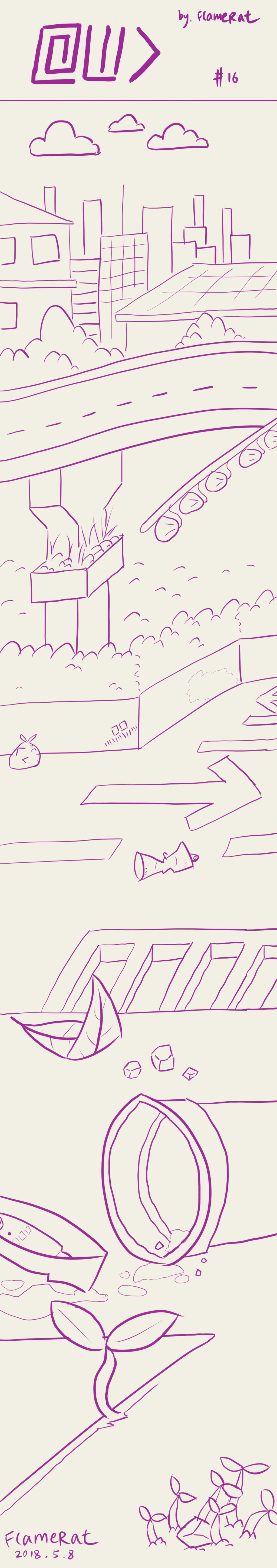 [Comic] At Wild Do #16 by FlameRat-YehLon