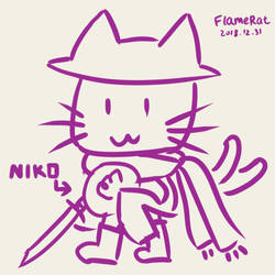 Cat sith is not cat by FlameRat-YehLon