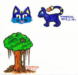 Marker Doodle by FlameRat-YehLon