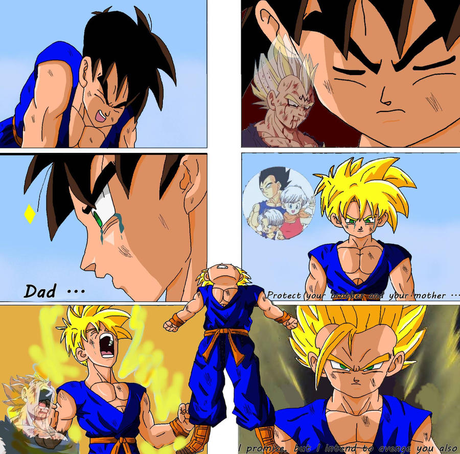 Dbz Oc's : Father ... by caractrer-manga