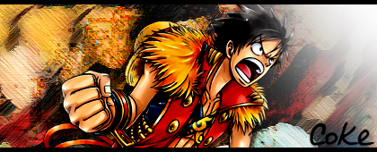 One Piece - Luffy Signature by MiguelRaimond