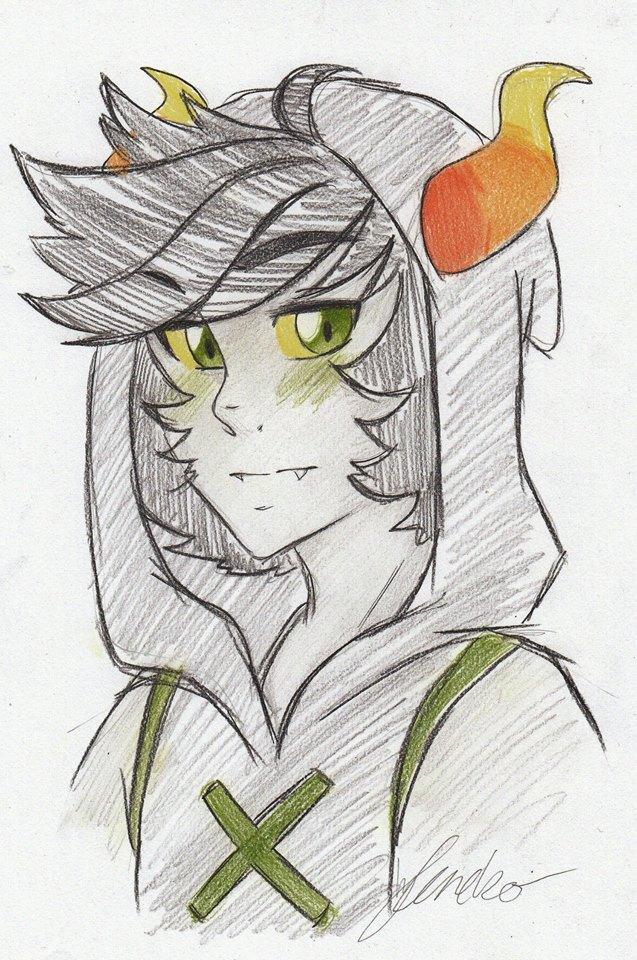 Thalas sketch by leneko