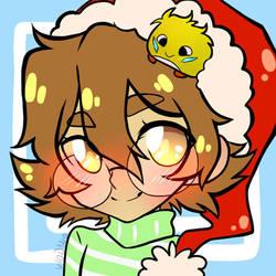 Christmas Pidge Icon by Viodino
