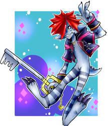 KH3 Monster Sora by Viodino
