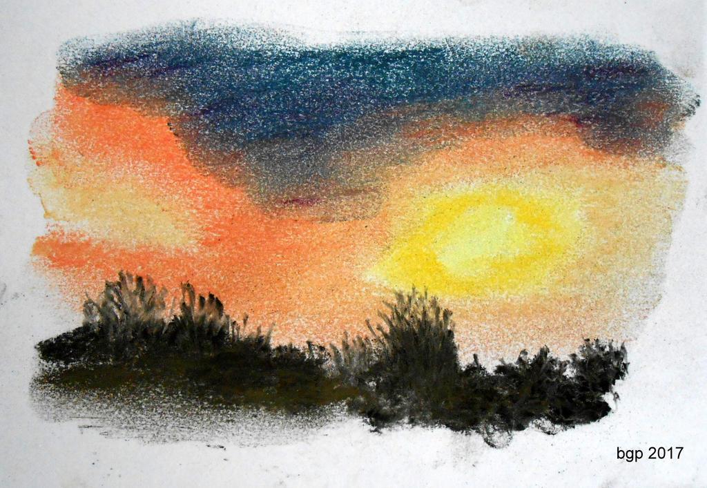 Coucher de soleil by manette64