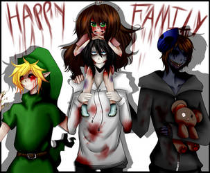 Creepypasta characters favourites by NicoleDrowned on DeviantArt