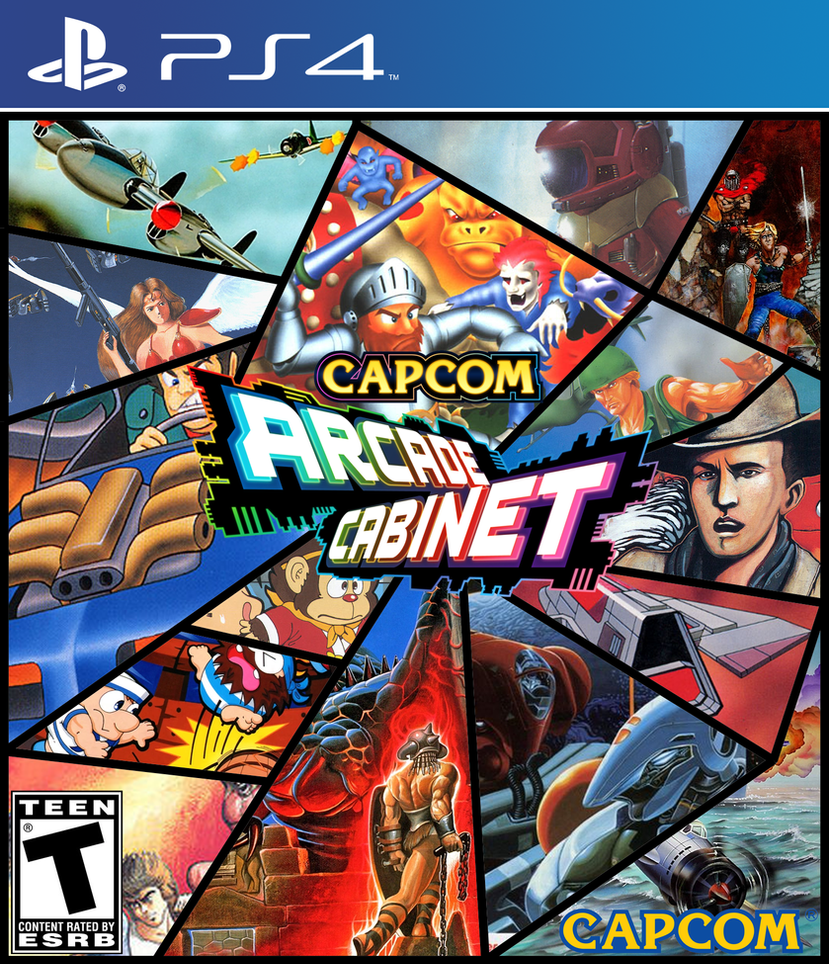 Capcom Arcade Cabinet On PS4 By SuperpanArts ...