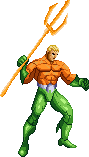 Aquaman sprite (King of Fighters) by SuperpanArts