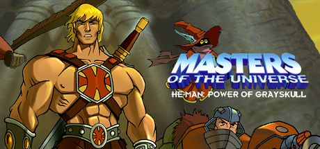 He-Man: Power of Grayskull Steam Banner by SuperpanArts