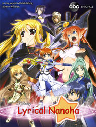 What If? - Disney's Lyrical Nanoha poster by SuperpanArts