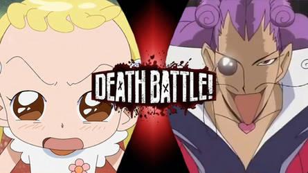 Hana-chan vs. Oyajide (Death Battle parody) by SuperpanArts
