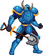 Shovel Knight sprite (King of Fighters) by SuperpanArts