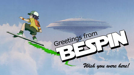 Bespin Postcard by SuperpanArts