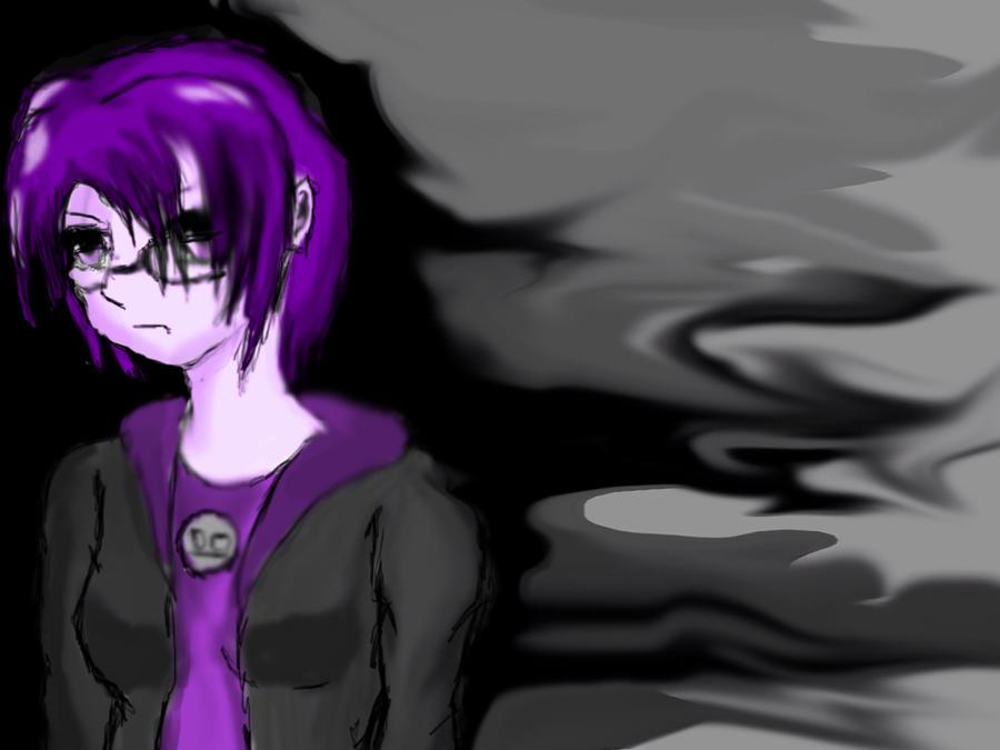 Purple Mituzora BG by shinigami-of-death02