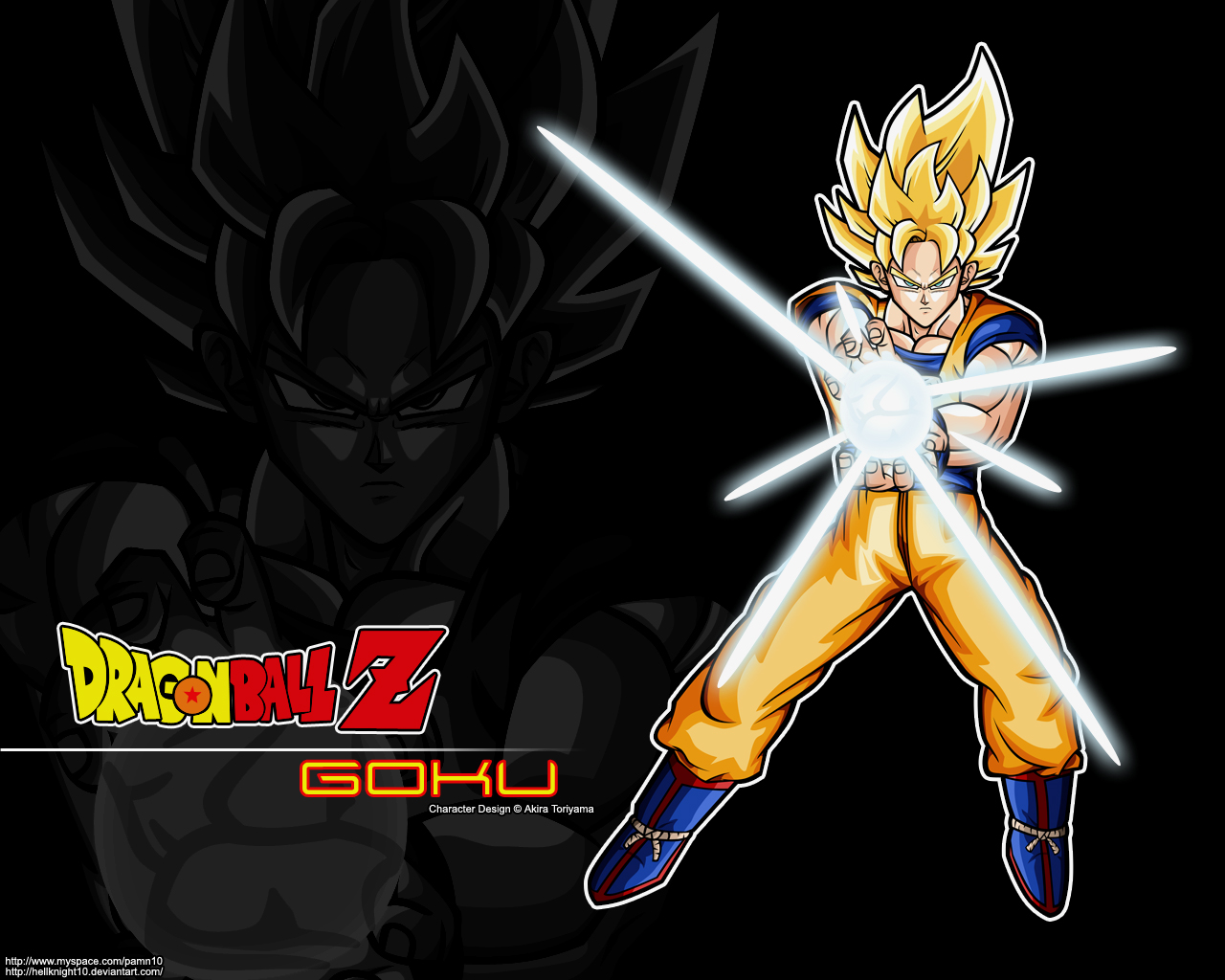 Super Saiyan Goku Wallpaper By Hellknight10 On DeviantArt
