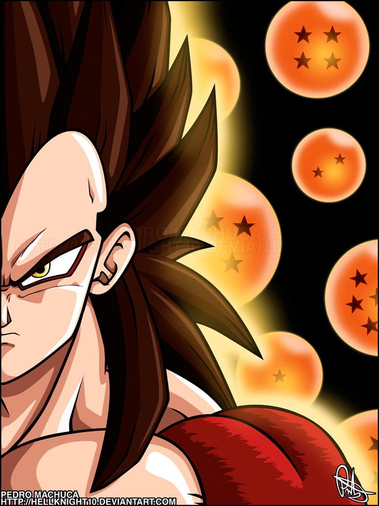 Super Saiyan 4 Vegeta By Hellknight10