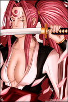 Baiken The Vengeful Samurai by Hellknight10
