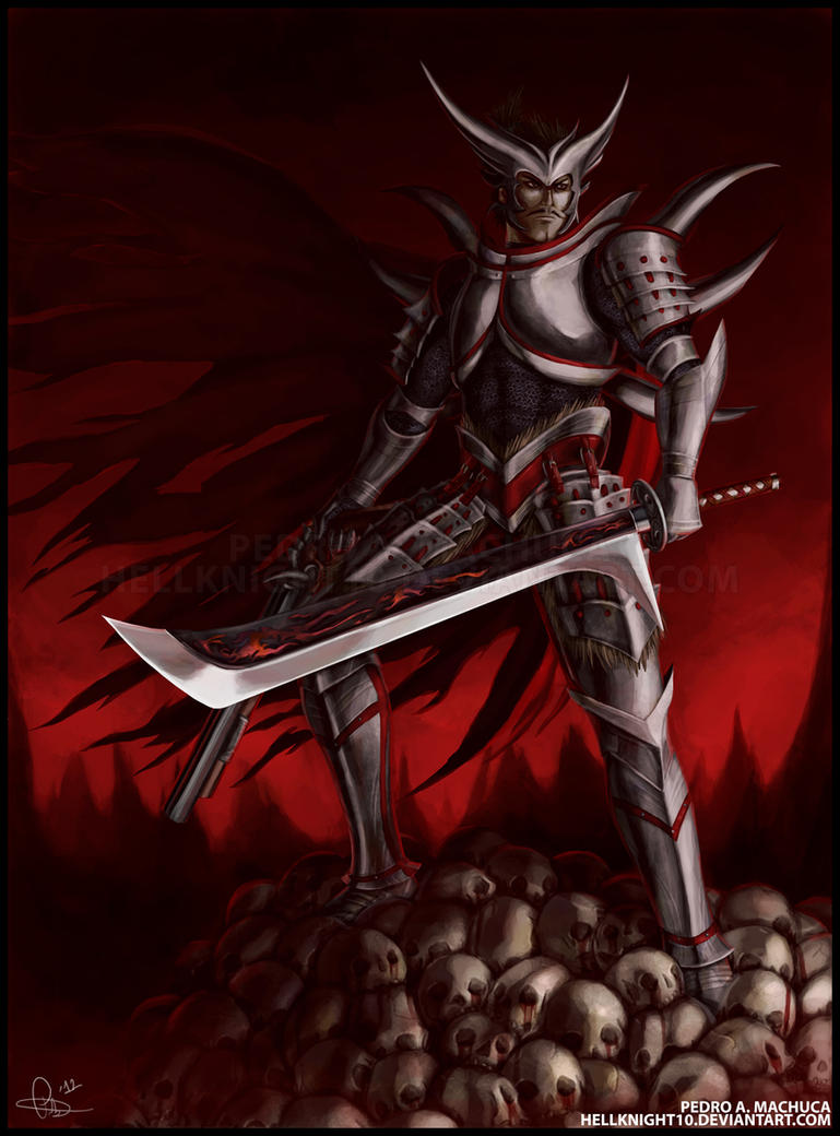 The Devil King - Oda Nobunaga by Hellknight10