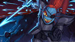 UNDERTALE - Royal Spear Undyne