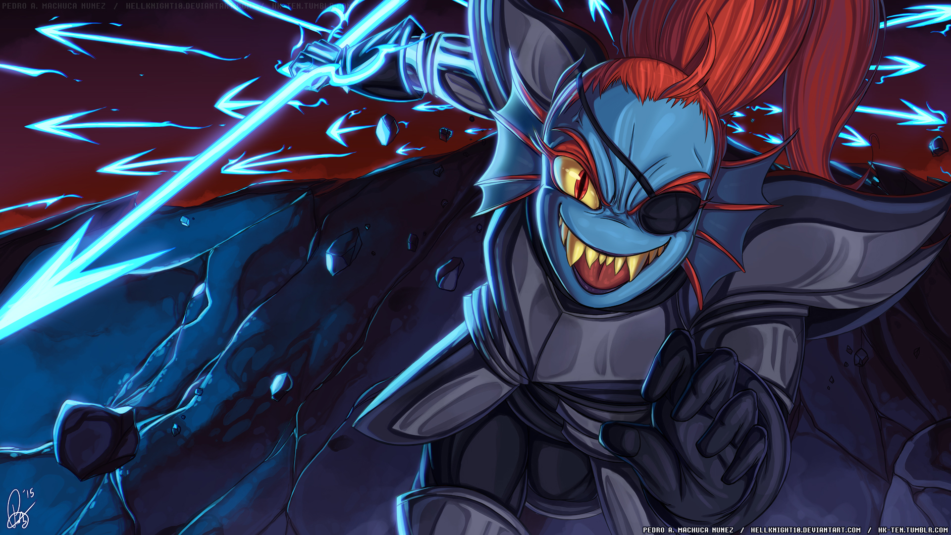 [Image: undertale___royal_spear_undyne_by_hellkn...9ipuam.jpg]