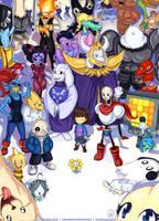 The World of UNDERTALE by Hellknight10