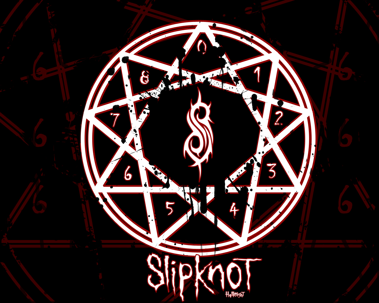 Slipknot Wallpaper by Hellknight10