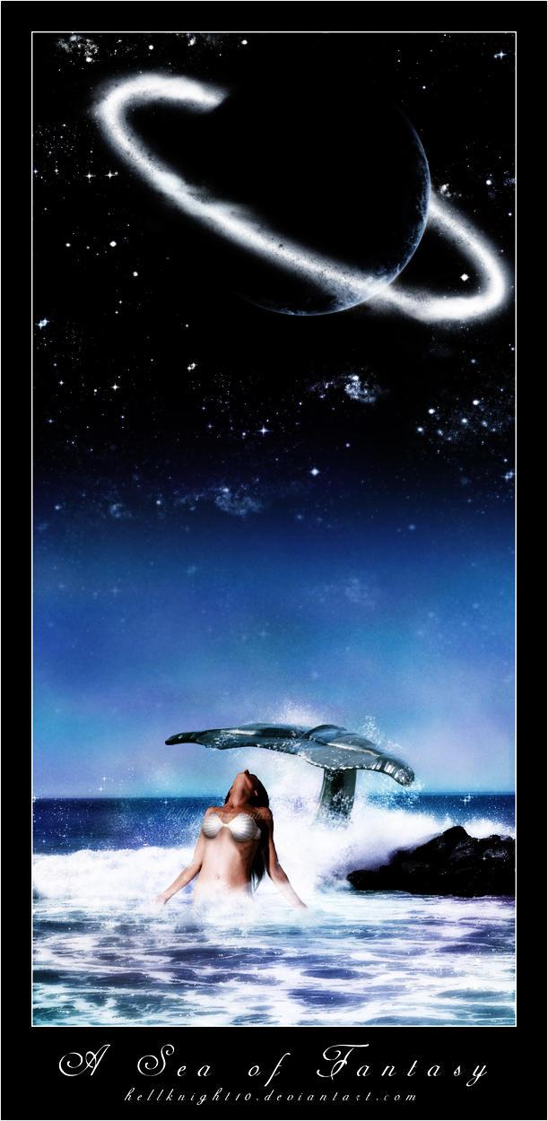 A Sea of Fantasy by Hellknight10