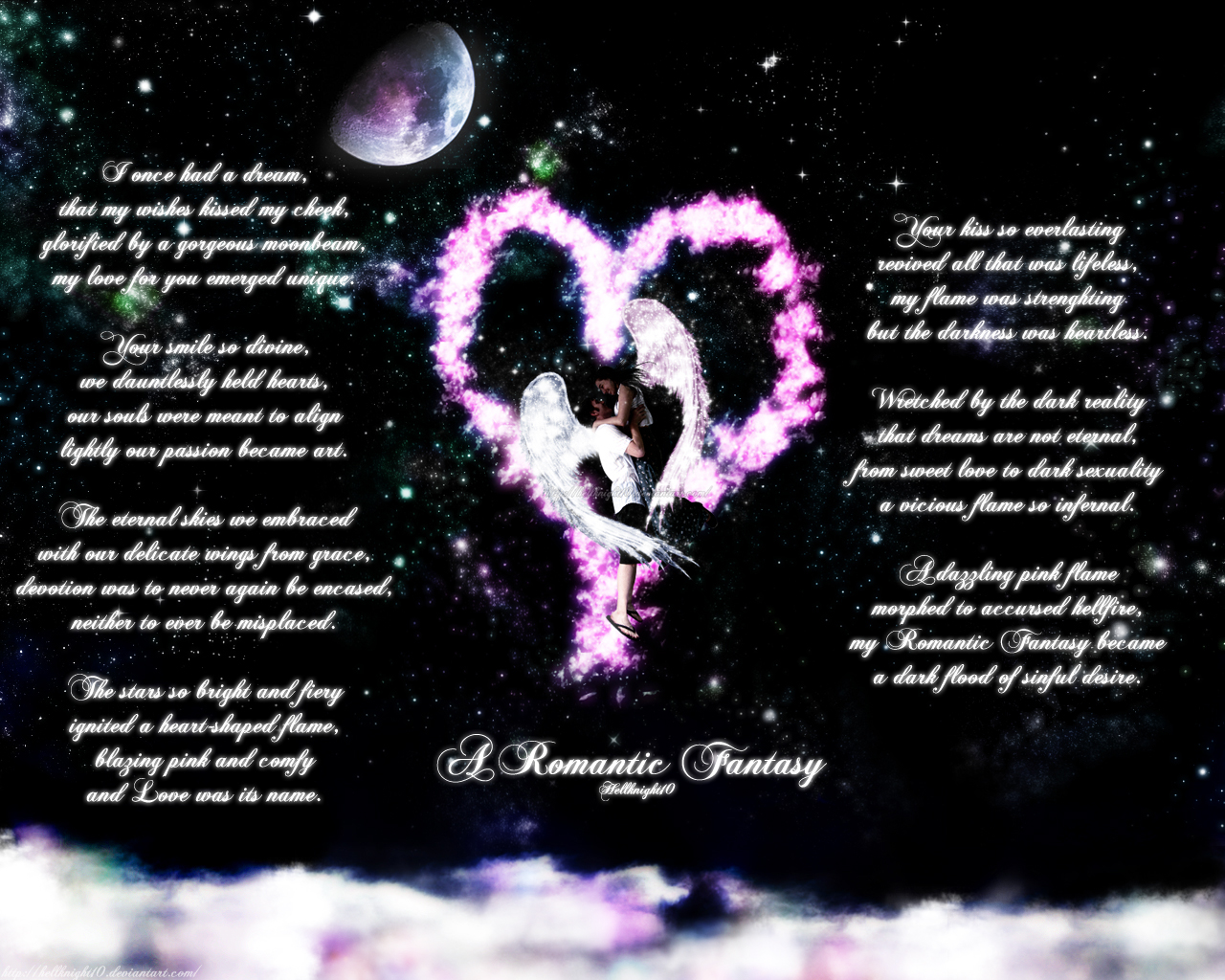 A Romantic Fantasy Poem By Hellknight10 On Deviantart