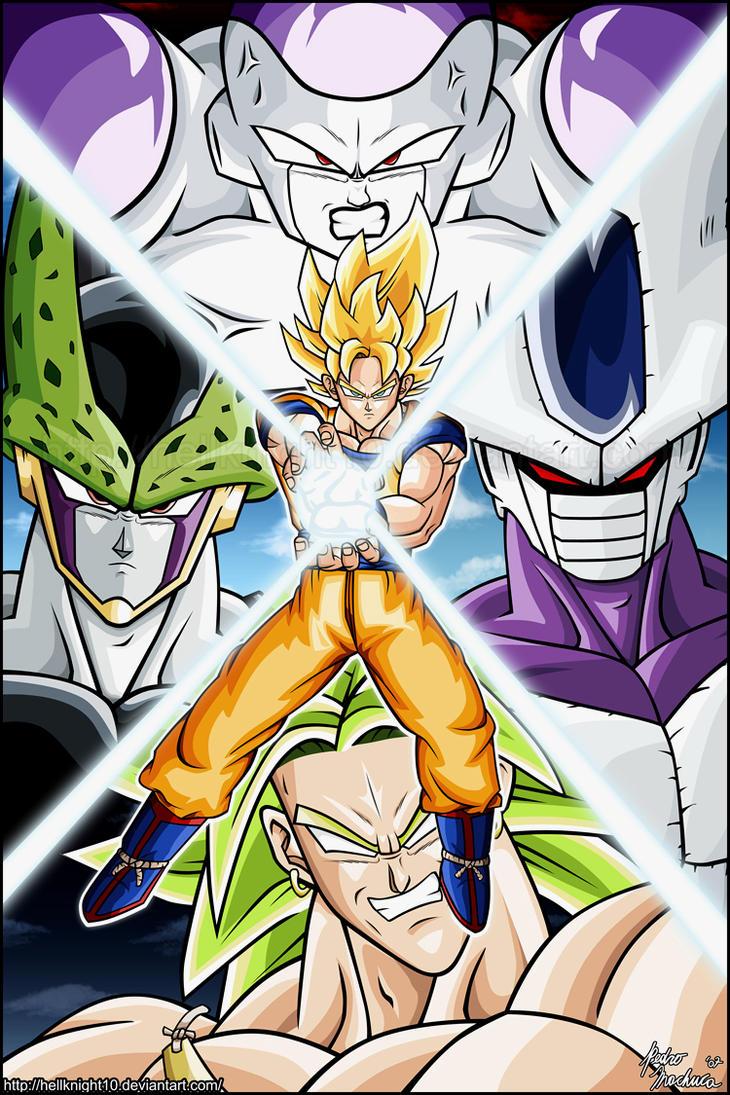 Super saiyan goku 39 s foes by hellknight10 on deviantart - Goku super sayen ...
