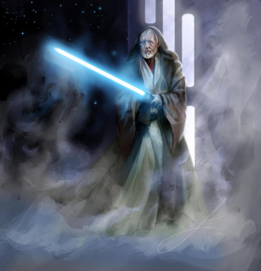 Obi-Wan Ben by Lotsmanoff