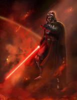 Darth Vader by Lotsmanov