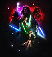 Star wars collage by Lotsmanov