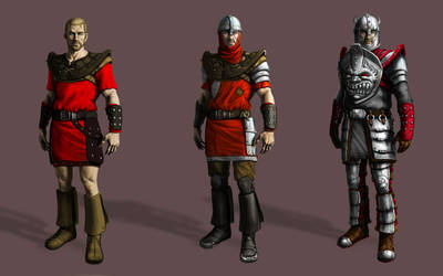 Gothic 1. Old Camp guard armor by Lotsmanov