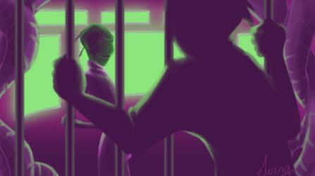 Behind bars by SWING-21