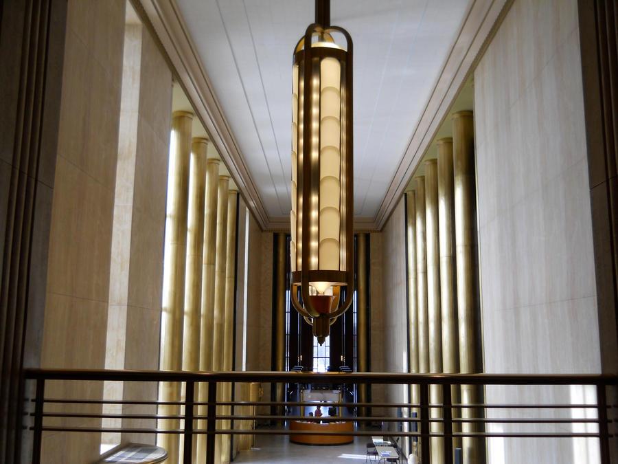 Art Deco Chandelier by Chaosfive-55