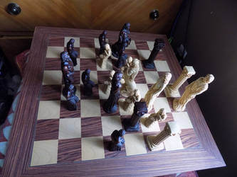 White's Move--Danger Abounds...