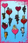 Flying Hearts - Happy V-day