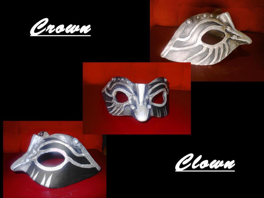 Crown Clown Mask by Freya-24