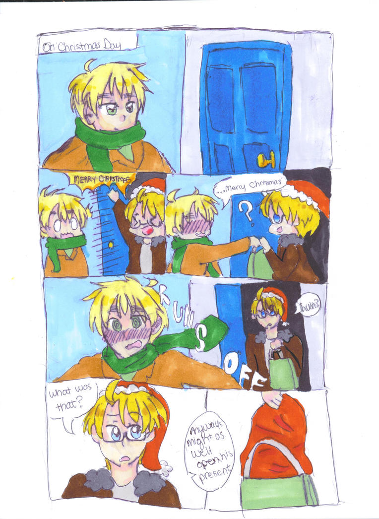 Christmas comic pg 2 by bananas7986