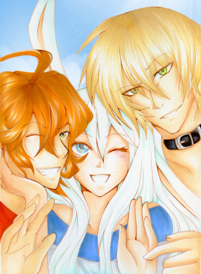 Let's smile, guys by Effe992
