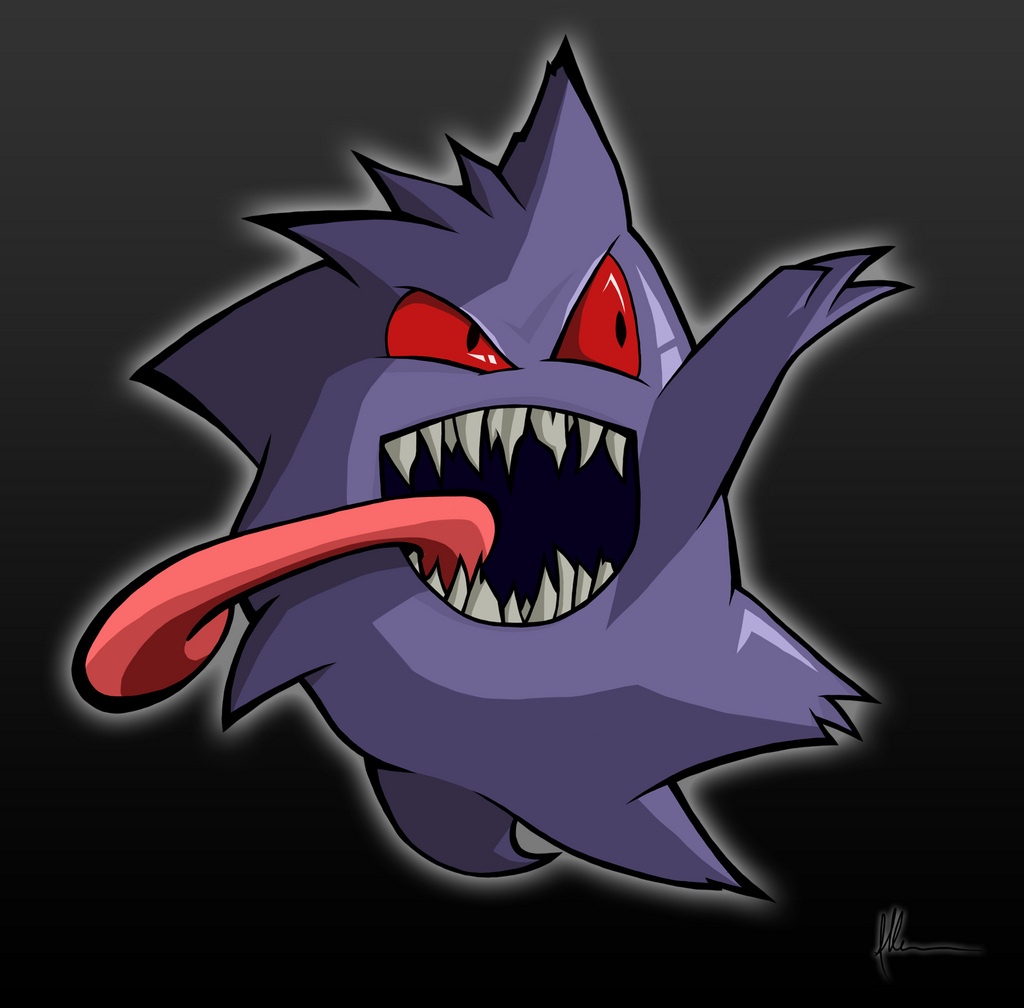 Gengar by kitty-23