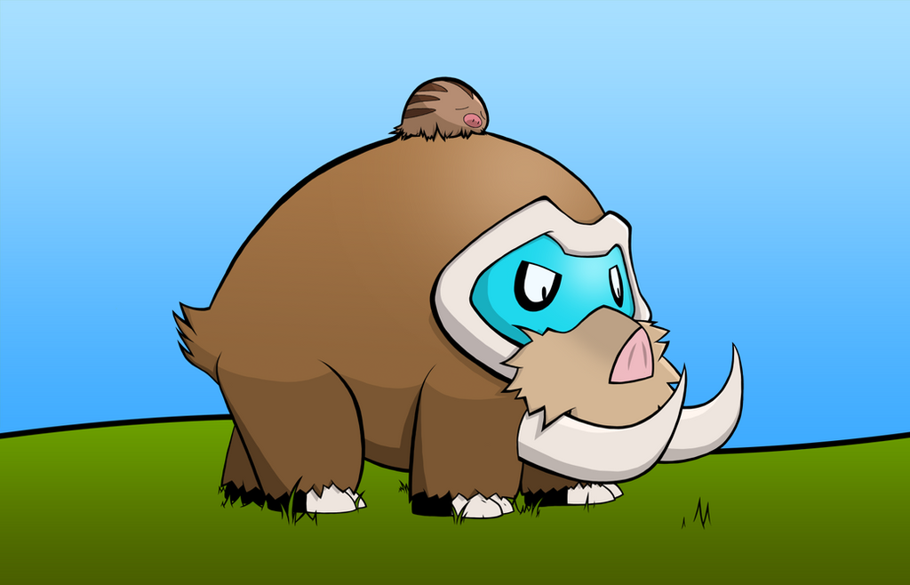 how to get mamoswine in pokemon x