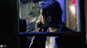 Rainy Phone Booth