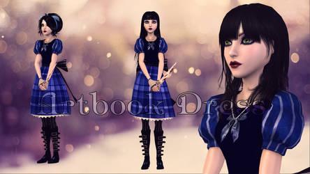 Artbook Dress by Brusya