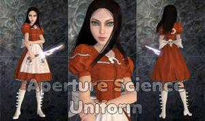 Alice Aperture Science Uniform