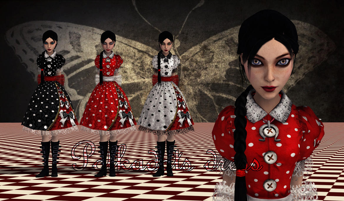 Polkadots Dress by Brusya