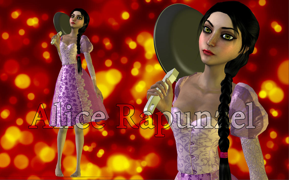 Alice Rapunzel mod [new] by Brusya